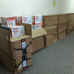 1,804 packages of Baby Wipes