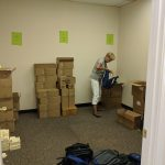 Filling Backpacks - Lenexa Optimist Club