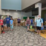 Shawanoe Elementary - School Supplies Take Over the Library