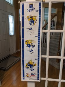 KC Royal Hanging Growth Chart for Kids